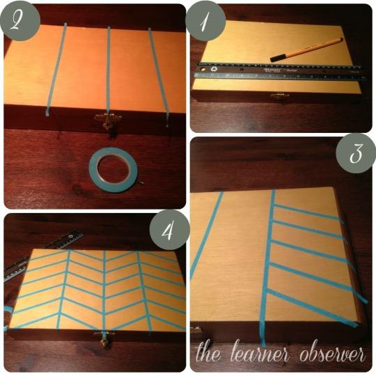 cigar box pattern