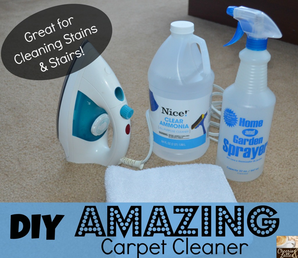 DIY Amazing Carpet Cleaner via Cheerios and Lattes